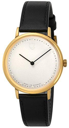 [ドゥッファ] 腕時計 GROPIUS2hands DF-9020-03 メンズ 正規輸入品 ブラック