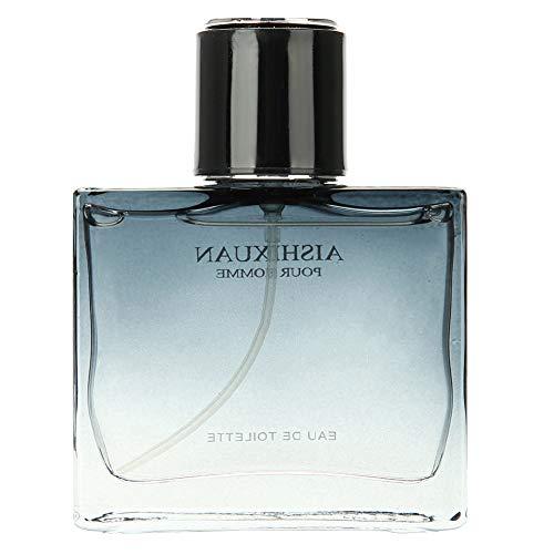 Eau de Toilette Vaporisateur pour Homme 50ml - floral de Cologne pour monsieur vaporisateur bouteille parfum hommes noirs(DS033A)