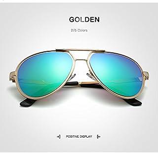 2018 サングラス 男性 偏光 太陽鏡 レトロパイロットサングラス サングラス ブランドデザイナー メガネ