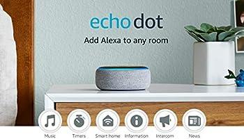 Echo Dot  3rd Gen  - Smart speaker with Alexa - Heather Gray