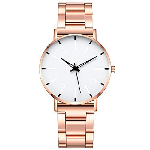 ZTT Minimalist Herrenmode Ultra Thin Uhren Einfache Mann-Edelstahlgewebe Gürtel Quarzuhr,A