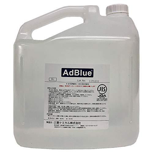 AdBlue アドブルー ディーゼル車排ガス規制対応 高品位尿素水 5L ノズル付き