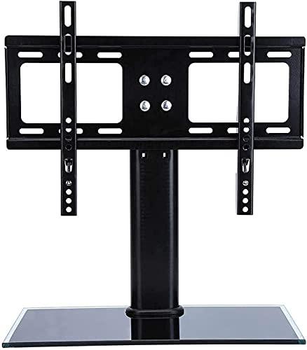 Soporte de TV Pedestal de sobremesa Soporte de TV para 32-55 Pulgadas Universal Desktop TV LCD LED Base de Soporte Soporte de Techo Soporte de TV Soportes de Montaje de TV