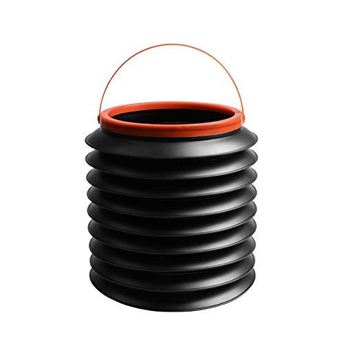 LWQ 4L-Beweglichen Auto-Abfall, Can Zusammenklappbarer Creative Multi-Funktions-Mini-Versenkbaren Regenschirm Auto Lagerung Eimer Zubehör