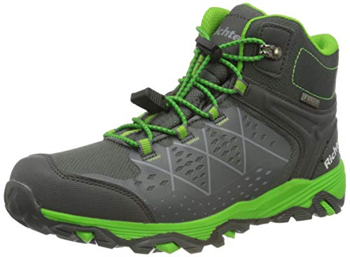 Richter Kinderschuhe TR-1 9245-8172 Walking-Schuh, 6401vulcano/Akz.n.Green, 38 EU