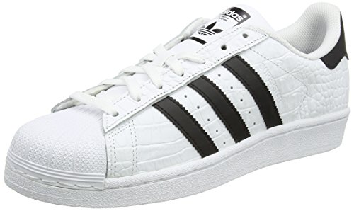 adidas Men's Superstar Trainers, White (Footwear White/Core Black), 10 UK 44.5 EU