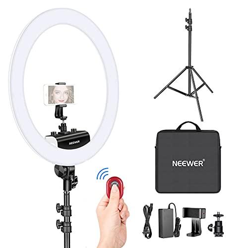 Neewer Ring Light Kit [1,8cm Ultra Fin]...