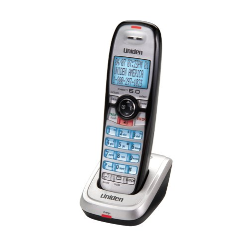 Uniden DECT 6.0 Digital Accessory Handset and Charger for DECT 2000 (DCX210)