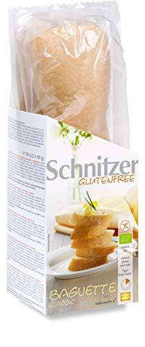 Schnitzer glutenfree Bio Baguette classic glutenfrei, 5er Pack (5 x 360 g)