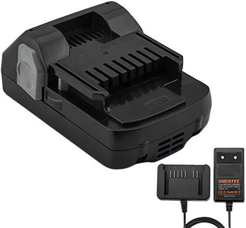 Shentec 18V 3000mAh Li-ion Batteria and Caricabatteria compatibile con Hitachi 339782 BSL1830C BSL1815X BSL1815S BSL1830 330139 330557