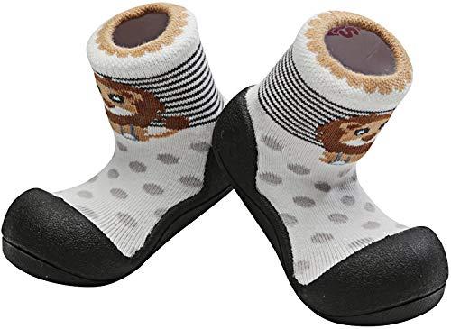 Attipas Zoo AZO0303 - Zapatos Primeros Pasos, Negro, 21,5