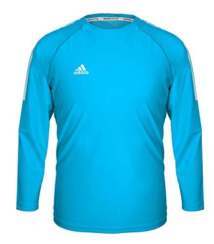 adidas Sailing Hombre Función Camiseta ajustada Long Sleeve Men, Hombre, color mittelblau, tamaño xx-large