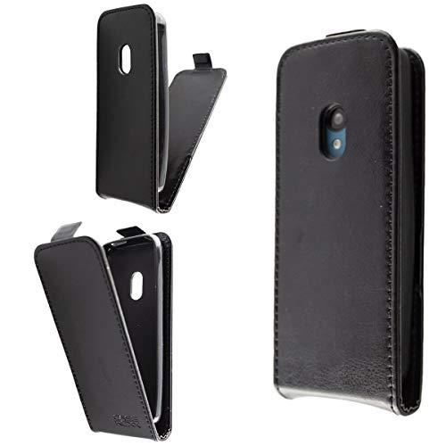 caseroxx Flip Cover per Nokia 125/150 (2020), tasca (Flip Cover in nero)