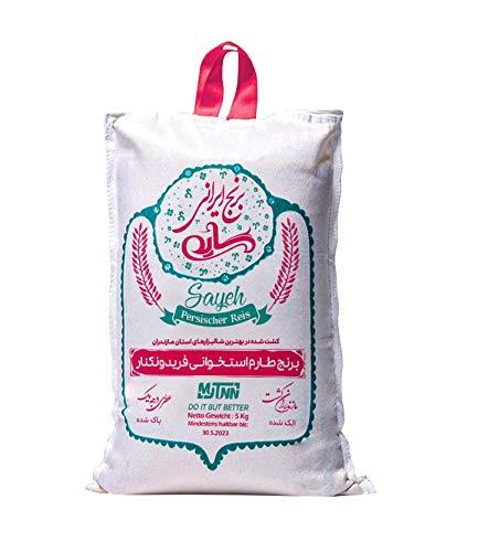 MyTNN Reis 5 Kg Premium Qualität rote Verpackung für Liebhaber orientalischer Küche (Tarom Ostokhani)
