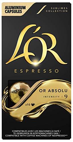 L'Or Espresso Or absolu - Intensité 9 - 50...