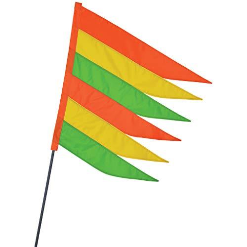Premier Kites SoundWinds Safety Recumbent Bike Flag - Neon
