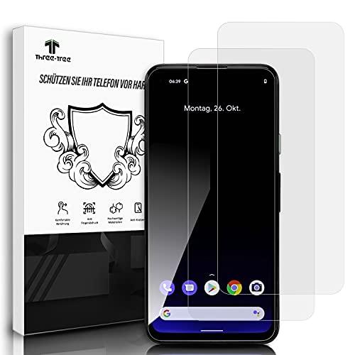 Panzerglas Schutzfolie [2 Stück] für Google Pixel 4A 4G, 9H Festigkeitgrad Anti-Kratzen, Einfache Installation Blasenfrei HD Panzerglasfolie für Google Pixel 4A 4G