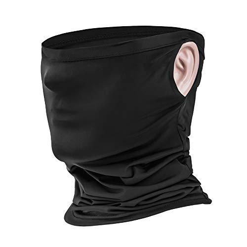 Schlauchtuch Mundschutz Multifunktionstuch Gesichtsmaske,Fahrradmask,Motorradmaske,Motorrad Sturmhaube Nasenschutz für Laufen Wandern Radfahren Motorradfahren Damen Herren