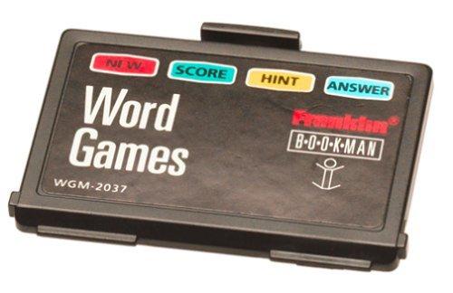 Franklin WGM-2037 Word Games Bookman Card