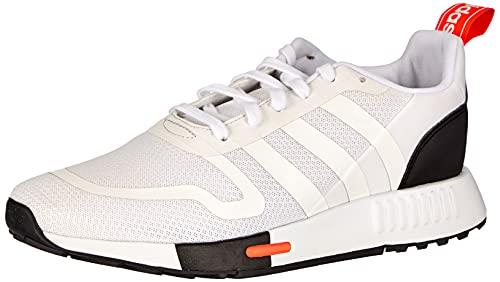 adidas Smooth Runner, Zapatillas de Running, FTWR White Core Black-Reloj de Pulsera para Hombre, 44 EU