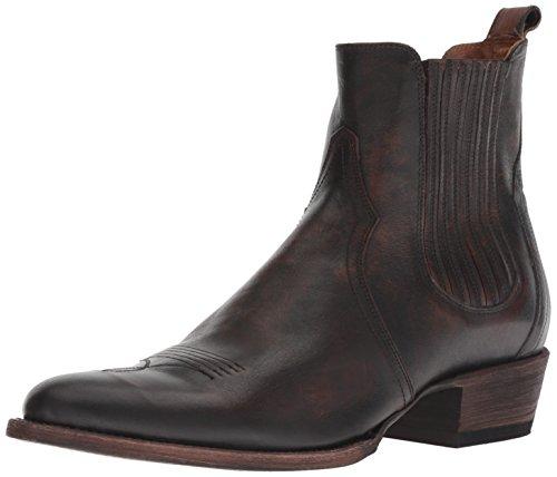 Frye Men's Grady Western Boot, Cognac, 11
