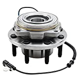 Detroit Axle - 4WD SRW Front Wheel Bearing Hub Replacement for 2011-2016 Ford F-250 F-350 Super Duty [Single Rear Wheel] 515130