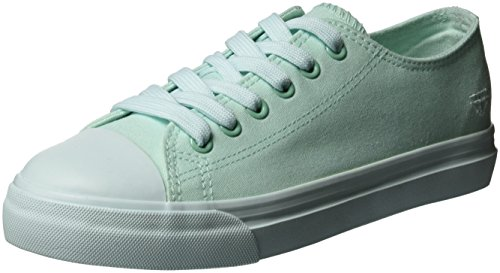Tamaris Damen 23600 Sneakers, Grün (Mint 768), 39 EU