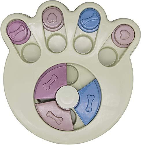 jaosn Juguete para perros, inteligencia, alimento para perros, juguete interactivo para cachorros, perros medianos y gatos (verde)
