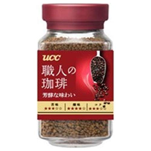 UCC 職人の珈琲 芳醇な味わい90g瓶×12本入×(2ケース)