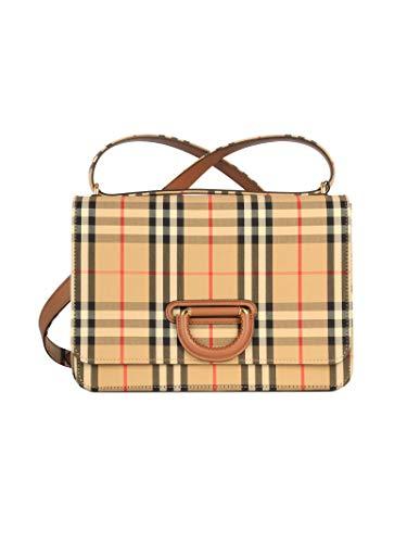 Luxury Fashion | Burberry Dames 8021285 Beige Leer Schoudertassen | Herfst-winter 19
