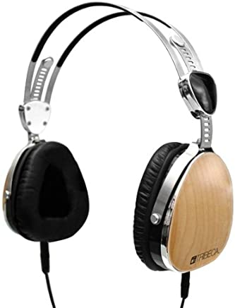 Amazon Devices & Accessories Tribeca Genuine Wood Aviator Headphones for Kindle Fire HD Bubinga