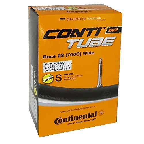 Continental Fahrrad Schlauch Conti TUBE Race 28 Wide, Ausführung:28´´ 700x25/32C 25/32-622/630 SV 60