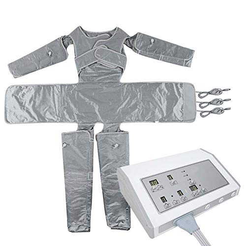 Far-Infrared Slimming Suit, Presso Drainage Lymphatic Massage Equipment Body Sauna Wrap for Anti Cellulite and Weight Loss(US)
