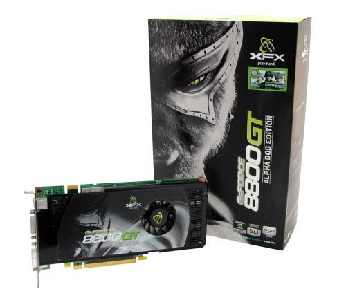 XFX Geforce 8800 GT Grafikkarte PCI-E 512MB DDR3 Ram Retail