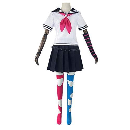 LHSY Anime Cosplay Costume Game Uniform Daily Sailor Traje JK Uniforme Vestido de Fiesta Disfraz de Fiesta,Clothing Suit-Small