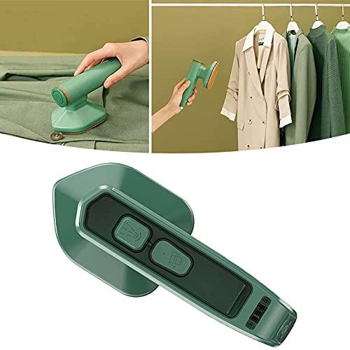Micro plancha de vapor profesional, Vaporizador de ropa vertical y horizontal, mini máquina de planchar portátil plegable, vaporizador de ropa ligero de mano, para el hogar/viajes (1 piezas)