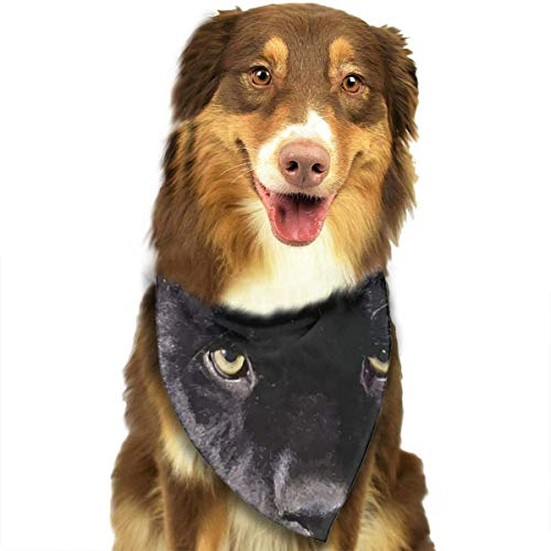 FunnyStar Hond Bandana Zwarte Panter Sjaals Accessoires Decoratie voor Huisdier Katten en Puppies