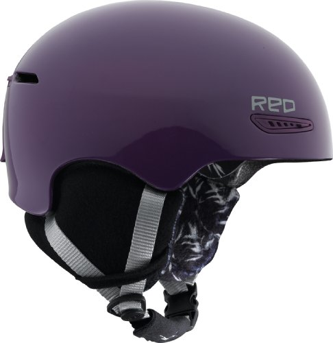 RED Damen Snowboardhelm PURE, PURPLE, XS, 229723