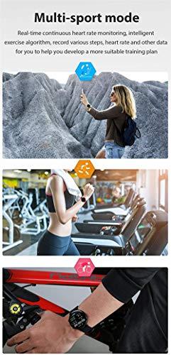 Reloj inteligente par reloj hombres s y mujeres s smartwatch deportes fitness pulsera-D