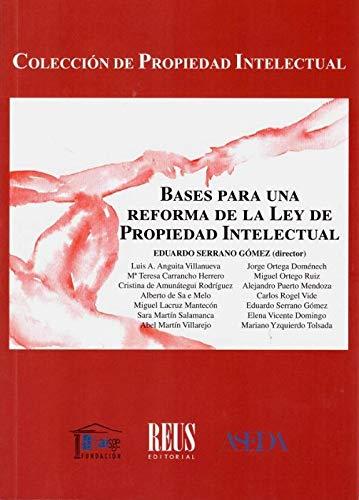 Bases para una reforma de la Ley de Propiedad Intelectual: 100