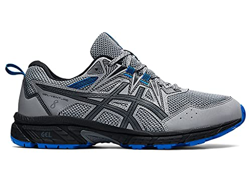 ASICS Men's Gel-Venture 8 Running Shoe, 10, Sheet Rock/Electric Blue