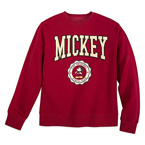 Disney Mickey Mouse Varsity Sweatshirt for Adults, Size S