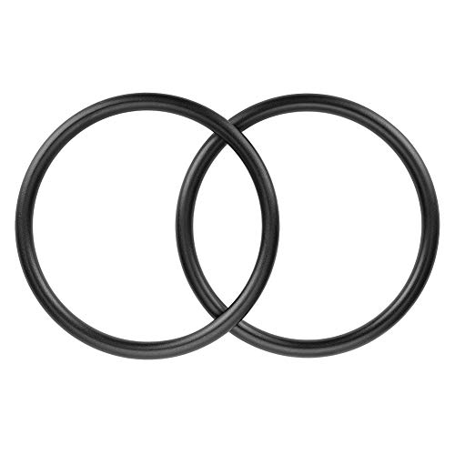 Accmor Baby Sling Ring 3 inch Aluminium Wrap Rings Soft Carrier Ring Accessory for Infants Toddlers Newborn Kids, Works with Your Own Material or Convert Wrap to Sling (Black)