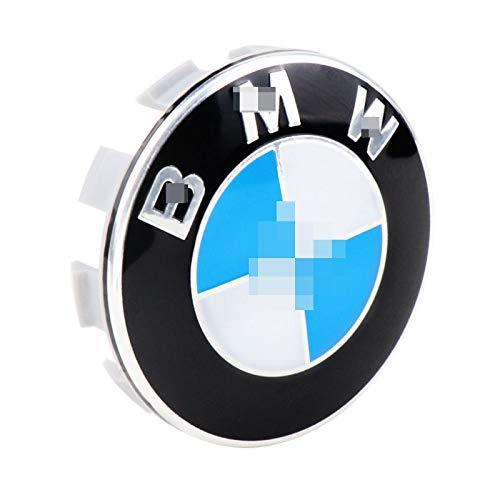 HHYM 4 PCS/Set Rueda Caps Caps Ajuste para LA Rueda DE BMW HUB CUERDO Cubierta DE LA Rueda DE CUCHO Logo DE Logo DE Logo DE Accesorios DE Estilo DE 56mm 326