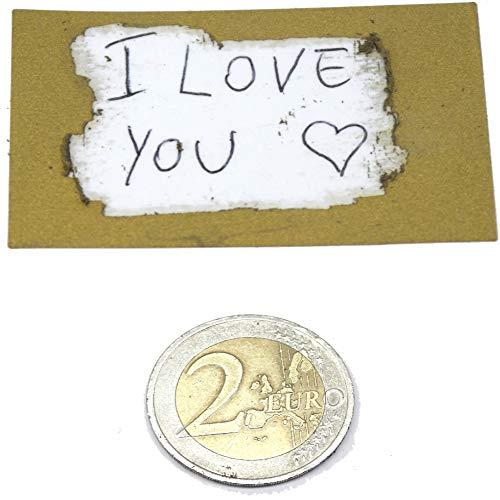 100 Etichette Gratta E Vinci Adesive Dorate Grandi 58 Mm X 35 Mm Con Fondo Trasparente Pvc Per Coprire Una Scritta. Facile Da Grattare Per Gratta E Vinci Matrimonio O Regalo San Valentino (Oro)