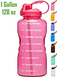 Venture Pal Large 1 Gallon/128 OZ (When Full) Motivational BPA Free Leakproof...