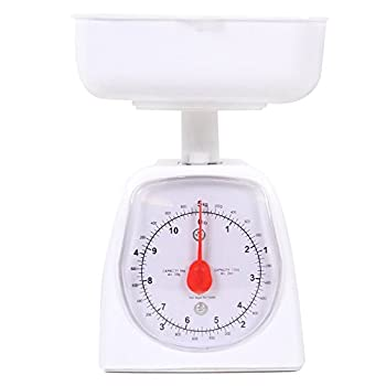 hand2mind Dual-Dial Analog Platform Scale 5 kg Scale Kitchen Scales Weighing Scales Classroom Supplies for Teachers Elementary Teacher Supplies School Supplies