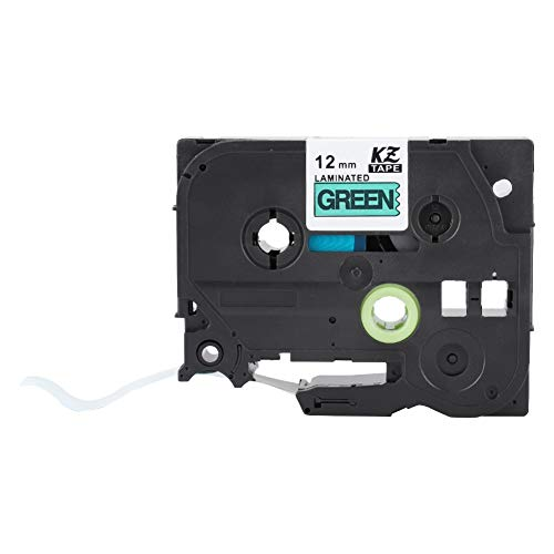 Hilitand Label Tape,KZe-231 431 531 631 731 Compatible Label Tape High Toughness for Brother P-Touch 12mm for PVC Sleeve/Heat Shrinkable Tube/Sticker(TZe-731)