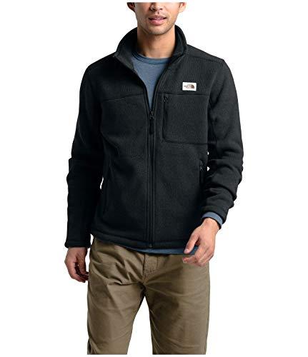The North Face Men's Gordon Lyons Full Zip Fleece Jacket, TNF Black Heather, Large