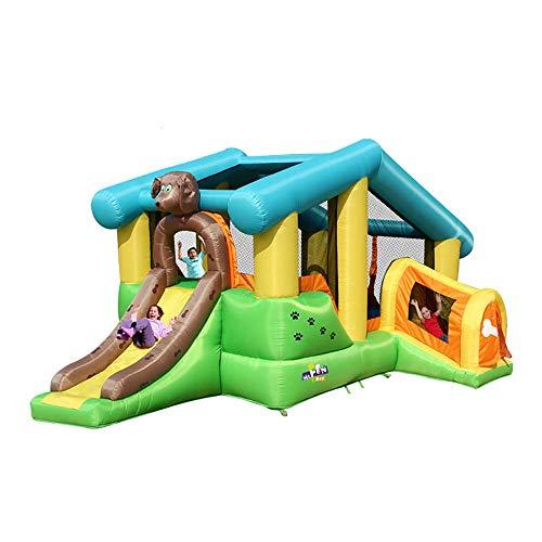 Regalo de la Navidad inflable casa de la despedida para los niños, Salto y Slide Centro de Actividades Castillo de la gorila para niños Soplador, kit de reparación, Trampolín, Splash Pool pared Suba